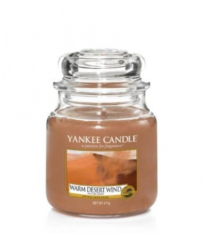 Warm Desert Wind - Medium Jar Candle - The Candle Scentre