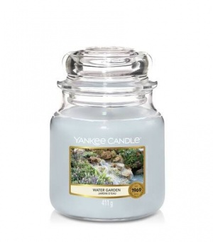 Water Garden - Medium Jar Candle - The Candle Scentre