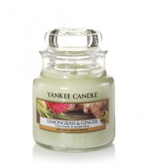 Lemongrass and Ginger - Small Jar Candle